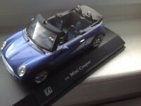 MINI CONVERTIBLE 1/24 SCALE MODEL