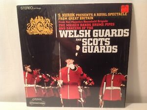 MASSED BANDS, DRUMS, PIPES OF WELSH & SCOTS GUARDS VINYL LP