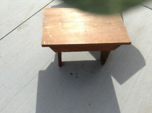 Wood stepping stool for sale