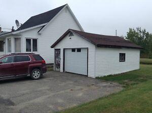house on double lot in Virginiatown, Ontario