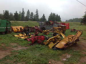 Ditching buckets/ Dump boxes / snow plows/ baler/ 3 sod plow