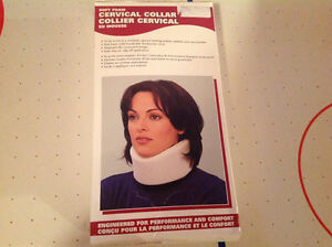 Brand new neck protector, cervical collar, firm large size Edmonton Edmonton Area image 1