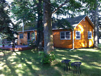 LAKE of the WOODS, Island cabin on Lobstick Bay