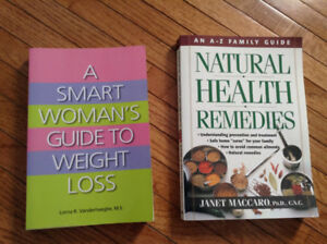 two books -weight loss/health remedies