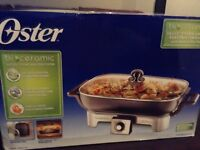 Oster Removable Electric Skillet - still in the box!