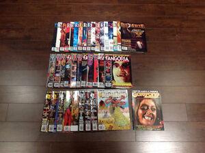 Fangoria / Rue Morgue / HorrorHound mazines lot