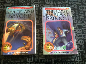 Choose your Own Adventure - 2 books