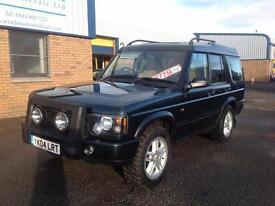 Land Rover Discovery 2.5Td5 ( 7 SEATER) LTD EDITION Landmark 2004, FSH 110K