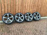 """AUDI/VW 19"""" Alloy wheels"""
