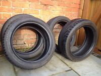 Part worn Tyres - set of 4 Toyo Proxes T1Rs 185X50X16 R 81V