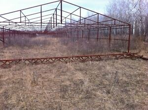 Steel framed structures-greenhouse/storage/agriculturial use,etc
