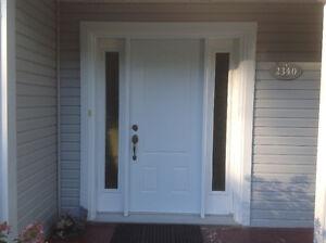 Porte extérieure avec latéraux