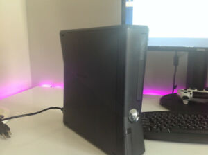 xbox 360 with 120 gb hard drive