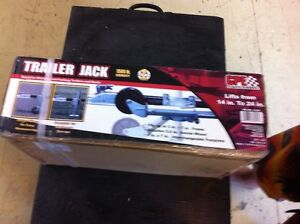 TRAILER JACK C/W WHEEL AND FOOT PLATE