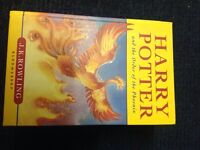 Harry Potter and the order of the Phoenix hard back book 1st edition