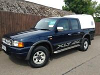 Ford Ranger 2.5TD 4X4 Pick Up 2001 XLT Double Cab