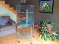 Grande cage d'oiseau