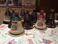 Various Bells Decanters