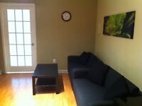 Renovated, furnished, everything incl 3 bdrm on Crescent!