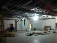 Dropped, suspended, float ceiling, installation and repair.