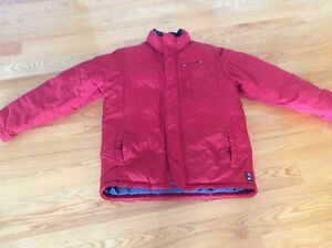 TOMMY HILFIGER DOWN FILLED WINTER JACKET MENS SMALL