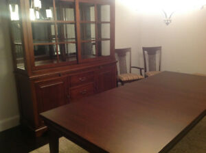 Cheery Wood formal Dining Set