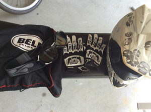 Bell youth helmet gloves and goggles, offers?