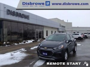 2018 Chevrolet Trax LT  Remote Start, Android Auto