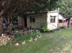 32 foot Trailer plus addition for sale, friendly family campsit