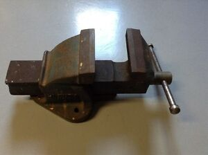 """Vintage Paramo Vice/Vise 5"""" jaws, Hi-Duty #5, Made in England"""