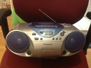 Panasonic RX-D13 portable stereo system