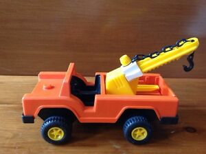 Vintage Fisher Price Tow Truck Lift Windsor Region Ontario image 2