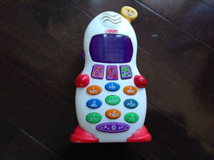 FISHER PRICE LAUGH 'N LEARN LEARNING PHONE