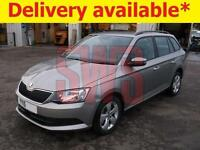 2015 Skoda Fabia SE TSi 1.2 Estate DAMAGED REPAIRABLE SALVAGE