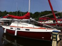 Sailboat - The Red Gypsy - Tanzer 26
