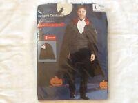 Men's Vampire Costume For Halloween Size Large