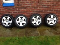 "Audi, VW, VAG group 5 stud 16"" Alloys & tyres"
