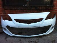 Vauxhall Astra gtc 2013 2014 2015 genuine white front bumper for sale