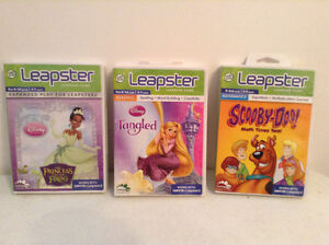 LeapFrog Leapster Game Cartridges ...$5. each