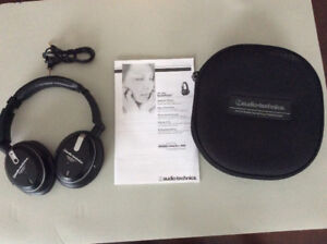Audio Technica Noise Cancelling Headphones