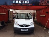 Vauxhall Vivaro ARCTIC VAN SALES