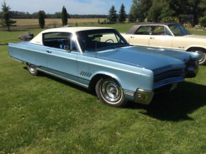 Classic Car with great Get-up and Go! - 1968 Chrysler 300