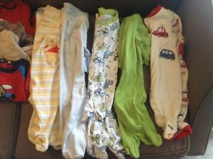 Box of boy's 6 months clothes Kitchener / Waterloo Kitchener Area image 3