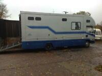 2000 LEYLAND DAF FA 45.150 HORSE BOX WITH LIVING ACCOMODATION NA Diesel Manual