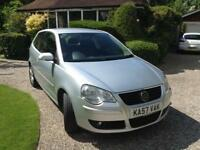 VOLKSWAGEN POLO 1.2 ( 60PS ) 2008MY MATCH 2 PRIVATE OWNERS FROM NEW 86,000 MILES