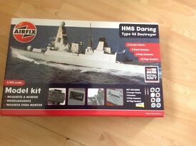 Airfix HMS Daring Type 45 Destroyer 1:350 Scale Model - New