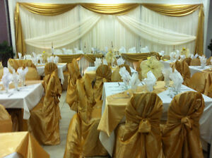 Wedding Decor and Banquet hall for rent wedding sale cheap