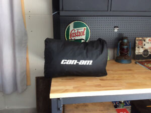 Can Am Factory Cover And Rear Rack