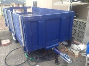 4 ft x 8 ft ATV trailer, factory built, located in Osoyoos