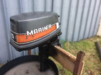 Mariner 5hp outboard engine
